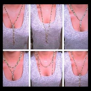 Stella and Dot Zoe Lariat Necklace.